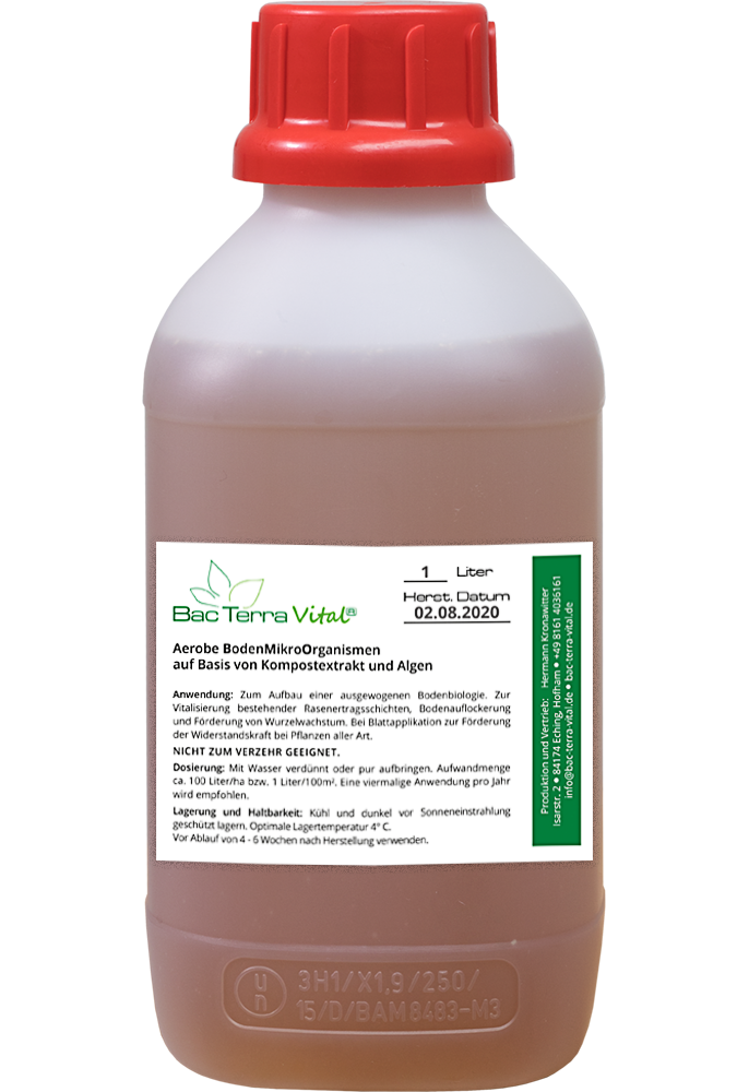 1 Liter Flasche Bac Terra Vital